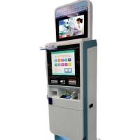 32寸液晶广告机电容红外触摸刷卡自助查询终端机钣金外壳定制