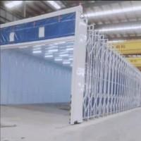 伸缩喷漆房 移动伸缩房 可定做尺寸定做颜色