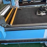衡水三银汽车脚垫生产设备振动刀切割机现货供应