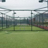 湖州浸塑体育场围网 笼式足球场围网 框架式围网设计定制